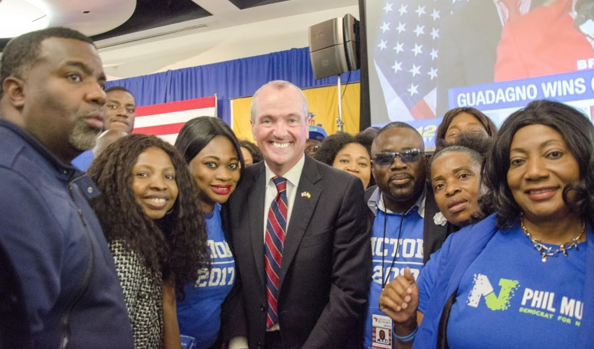 Africans for Phil Murphy Helped Propelled  Him To Victory!!!
